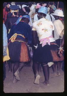 Pendant la procession des defuntos