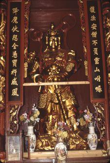 Nan Hua si (pagode Nan Hua) [statue de Bouddha]
