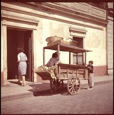 Santiago, vendeurs ambulants