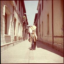 Vendeur de balais, Santiago