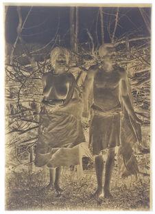 Mari et sa femme Ayé, oromos des Galen