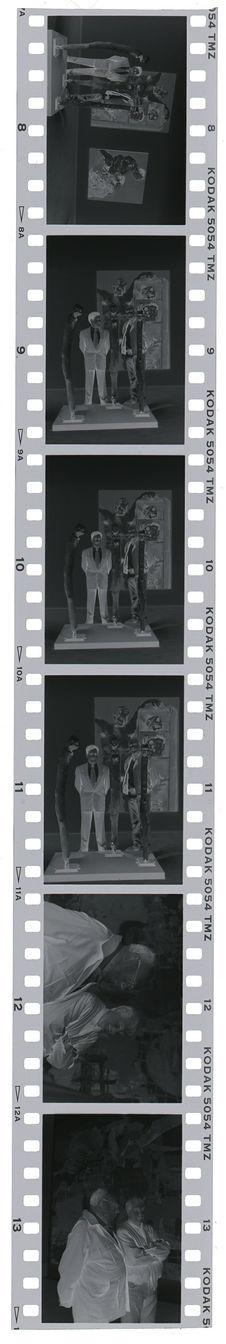 """Vues de l'exposition """"Botchios, Sculptures Fon, Benin&quot"""
