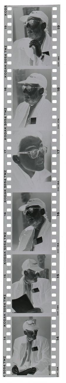 """Sans titre [portraits de Jacques Kerchache lors l'exposition """"L'art..."""