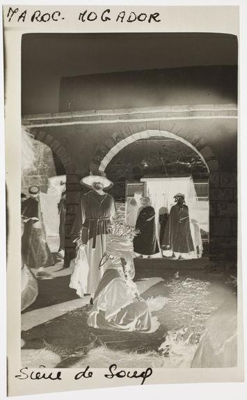 Scène de souq. Maroc, Mogador