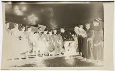 Danses des Meskalas en tournée chez Khoubban [danseurs et joueurs de tambours]