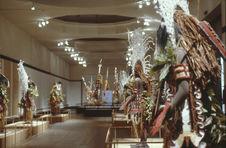 Exposition Masques-Sculptures d'Océanie. Masques Marind-Anim