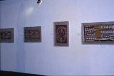 "Salle Australie ; Installation ; Ecorces collection ""Kupka&quot"