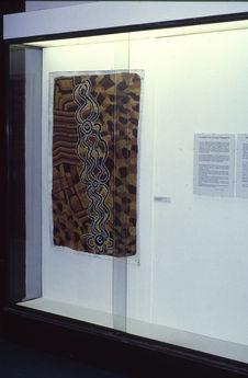 Salle Australie ; Installation ; Peinture [?]