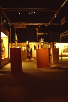 """Exposition """"Musée imaginaire de l'Océanie"""". Vue de l'exposition"""