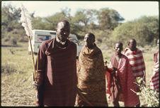 Sans titre [groupe de Maasaï lors de l'Eunoto]