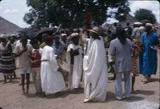 Sans titre [gbaya réunis lors d'une cérémonie]
