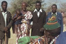 Sans titre [portrait de groupe de Maasaï]