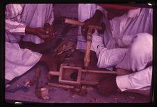Rajasthan : fabrication sarangi