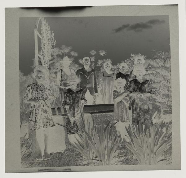 Le chef Maté et sa famille