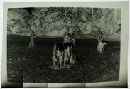 Préparation d'un champ de fonio
