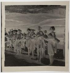 Danseurs et orchestre de tambours