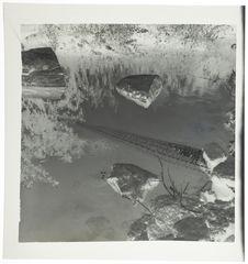 Nasse posée dans la rivière Bantala