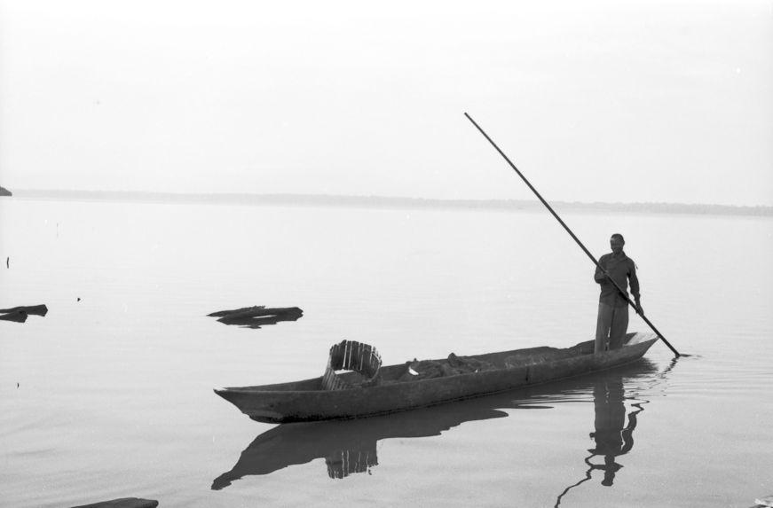 Sans titre [bande film de six vues : scènes de pêche]