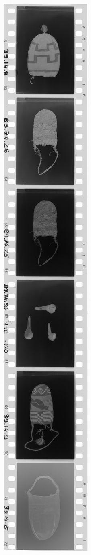 Bande film concernant des objets du Musée de l'Homme