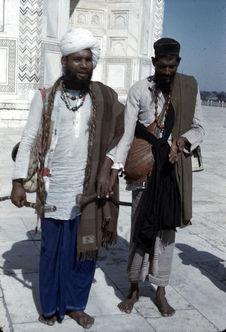 Visiteurs du Taj Mahal