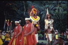 Reconstitution du Marae Arahurahu