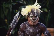 Danseur de la tribu Dunghutti