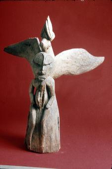 Sculpture de faitage de maison