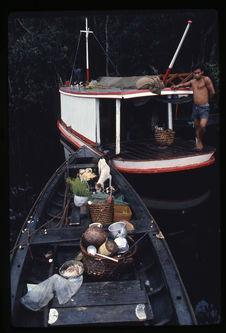 Embarcation caractéristique