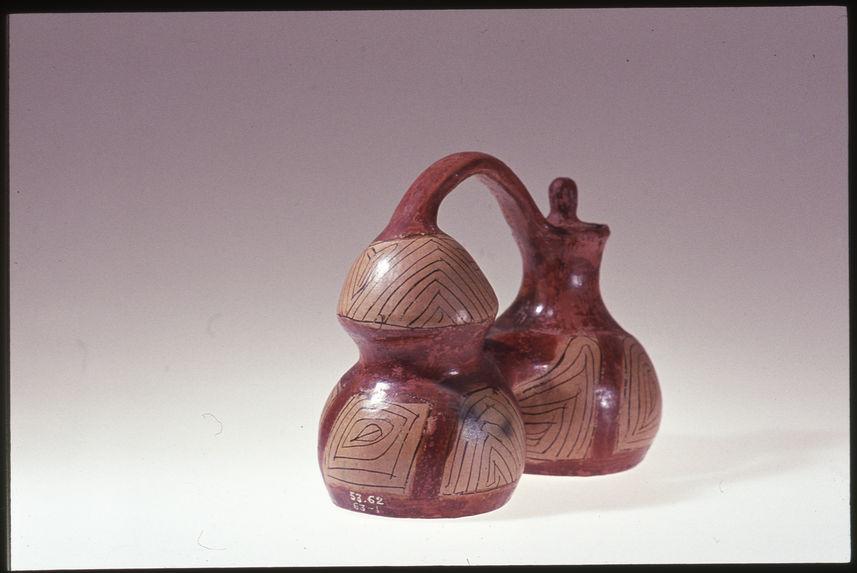 Vase double avec bouchon