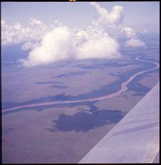 Sans titre [vue aérienne d'un paysage]