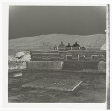 Le temple : vue extérieure [Mitla : palais des colonnes]