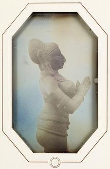 Sans titre [statuette de divinité indienne]