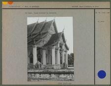 Vat Sanké : façade orientale du sanctuaire