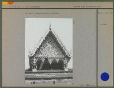 Vat Chotal : fronton orientale du sanctuaire
