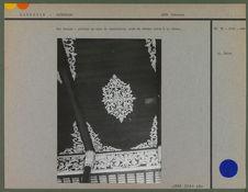 Vat Soriya : plafond de bois du sanctuaire