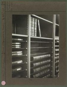 Bibliothèque à rouleaux pour in-folio