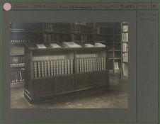 Bibliothèque : rayonnage