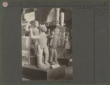 Afrique : statues des rois Glélé et Béhanzin