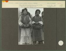 Femmes tibétaines du village de Tsedjrong