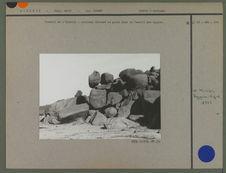 Cailloux énormes dans le Tassilli des Ajjers
