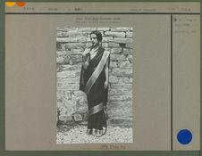 Jeune fille Sikh de haute caste