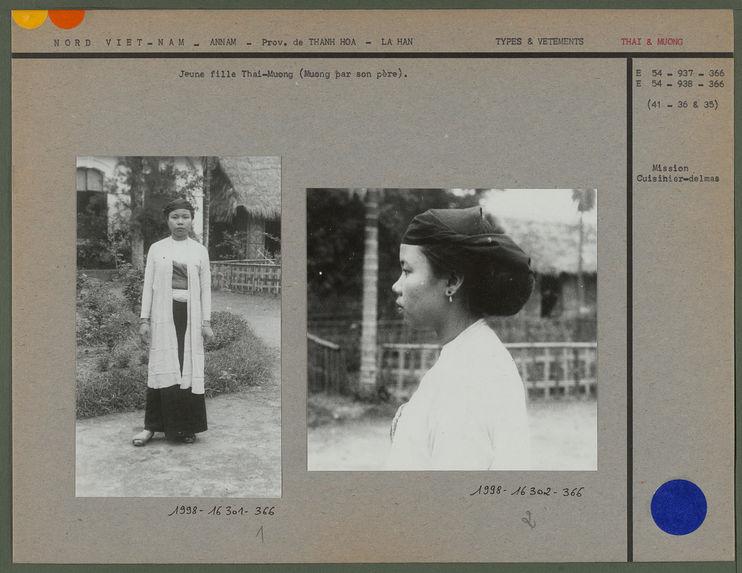 Jeune fille Thai-Muong