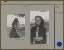 Femme Thaï noir