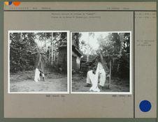 """Balinais dansant en costume de """"Gambuh&quot"""