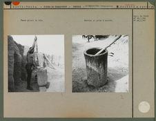 Mortier et pilon à karité