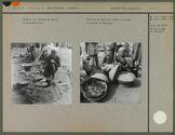 Galettes de haricots niébé et de mil au marché de Dédougou