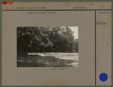 La pêche dans les rapides du Rio Oyapoc