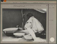La préparation du couscous