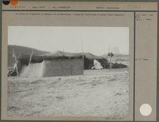 La tente de l'amenokal du Hoggar.
