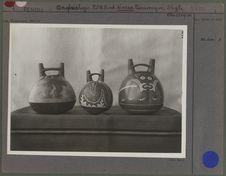 Trois vases de Nazca